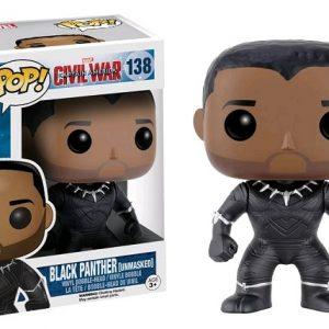 Civil War: 4 Pack Spider-Man, Hawkeye Pop Vinyl with Iron Man & Captain America key chains - image 13_CivilWar_BlackPantherUnmasked-300x300 on http://pop.toys