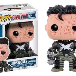 Pop Toys Civil War Crossbones Unmasked
