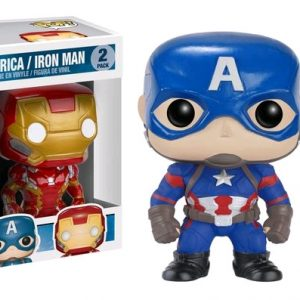 Civil War: 4 Pack Spider-Man, Hawkeye Pop Vinyl with Iron Man & Captain America key chains - image 29_Captain-America-3-Iron-Man-Captain-America-Pop-Vinyl-Figure-2-Pack-300x300 on http://pop.toys