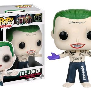 Suicide Squad Pop Vinyl: The Joker (Shirtless) #96
