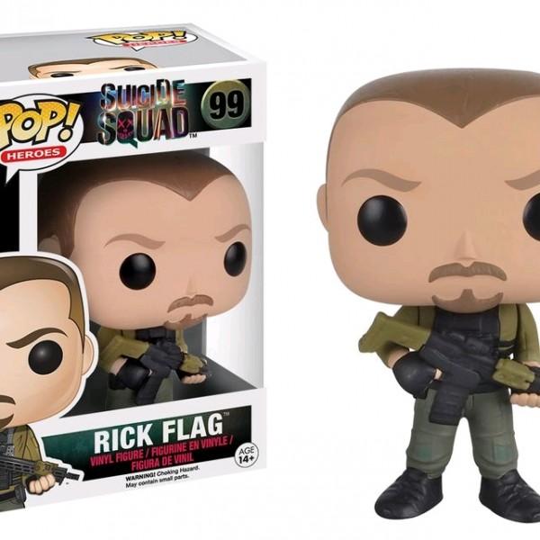 Suicide Squad Pop Vinyl: Rick Flag #99