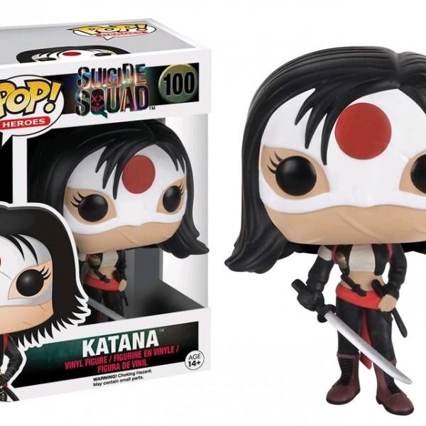 Suicide Squad Pop Vinyl: Katana #100