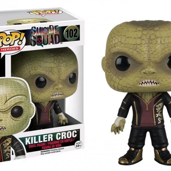 Suicide Squad Pop Vinyl: Killer Croc #102