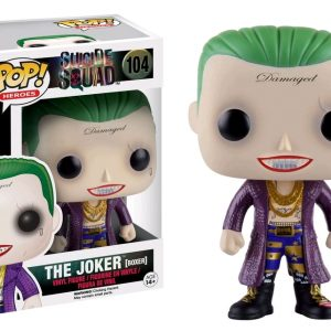 Suicide Squad Pop Vinyl: The Joker (Boxer) #104