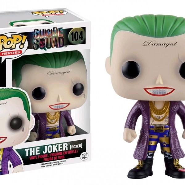 Suicide Squad Pop Vinyl: The Joker (Boxer) #104