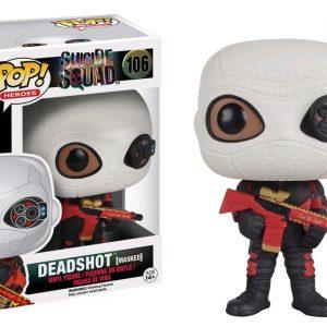 Suicide Squad Pop Vinyl: Deadshot Masked #106