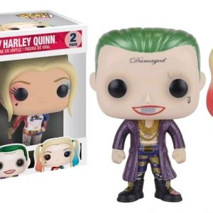 Suicide Squad Pop Vinyl: The Joker & Harley Quinn Metallic 2 pack