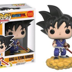Dragonball Pop Vinyl: Goku & Flying Nimbus #109