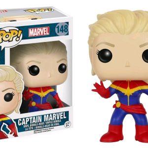 Marvel Pop Vinyl: Captain Marvel (Unmasked)