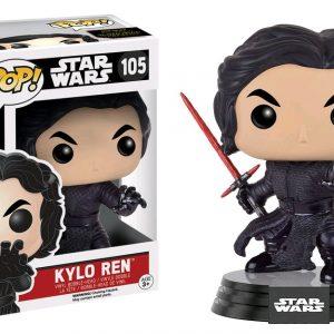 Star Wars Episode 7 Pop Vinyl: Kylo Ren (Final Battle) #105