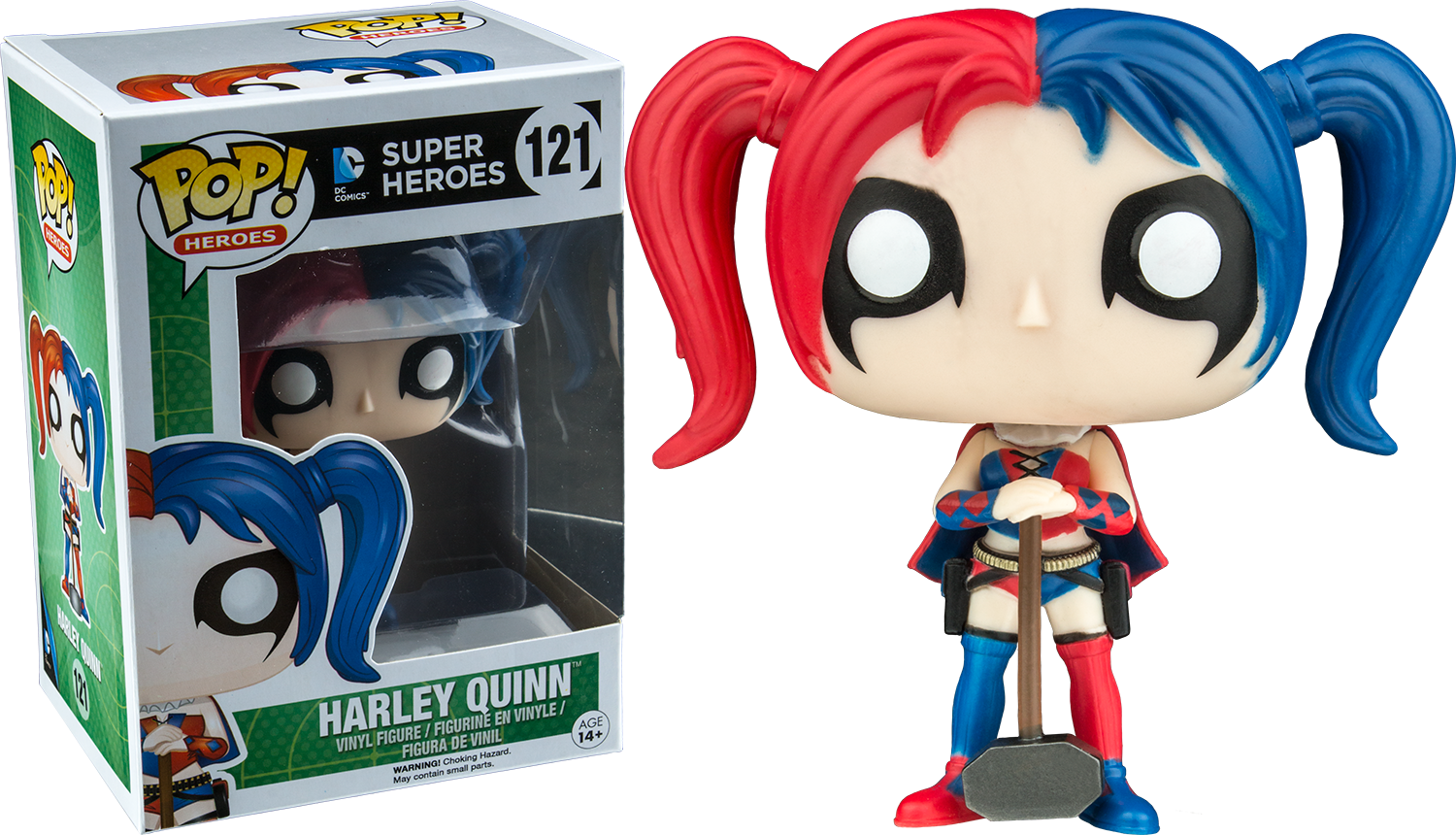 Dc Comics Pop Vinyl Harley Quinn New 52 With Mallet 121
