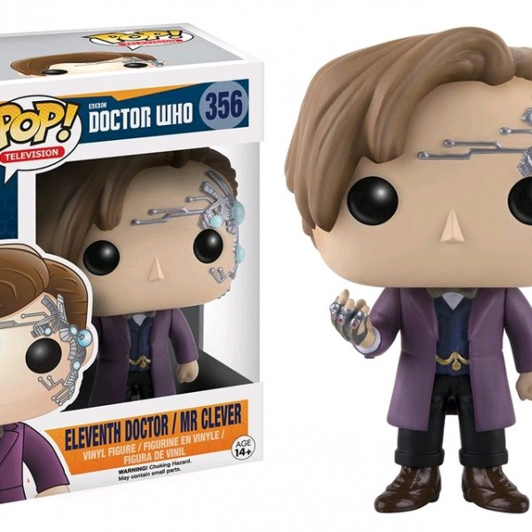 Doctor Who Pop Vinyl: Eleventh Dr / Mr Clever #356 - image DrWho-Eleventh-Doctor-Mr-Clever-356-600x600 on http://pop.toys