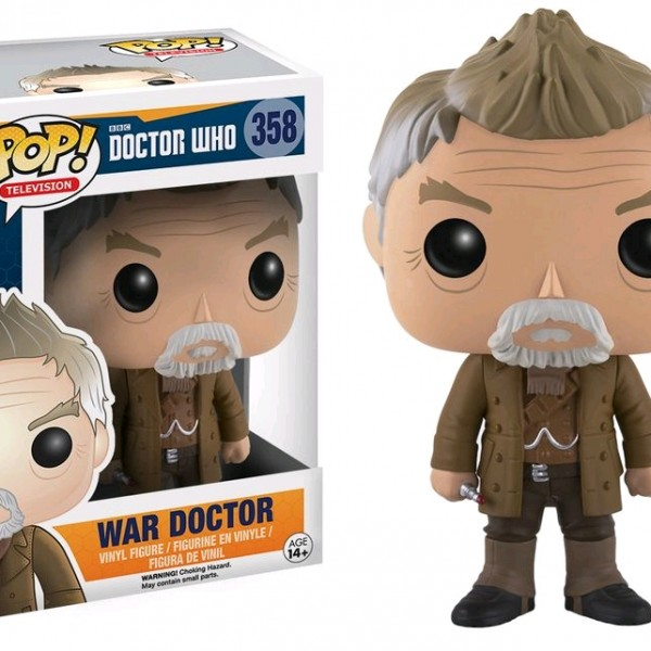 Doctor Who Pop Vinyl: War Dr #358 - image DrWho-War-Doctor-POP358-600x600 on http://pop.toys