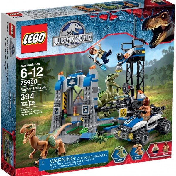 LEGO Jurassic World 75920 Raptor Escape Sealed Set - image 75920_raptor_escape-600x600 on http://pop.toys