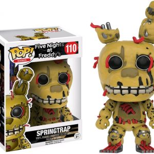 Back to the Future - OUTATIME Dice Game - image FNAF-110-Springtrap-POP-300x300 on http://pop.toys