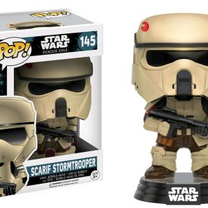 Star Wars Rogue One Pop Vinyl Darth Vader (Force Choke) #157 - image SW-Rogue-One-145-Scarif-Stormtrooper-300x300 on http://pop.toys