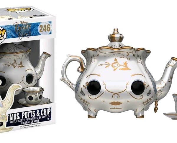 Beauty & the Beast Movie Pop Vinyl: Mrs Potts & Chip #246 - image BB17-246_Potts-Chip-POP-600x486 on http://pop.toys
