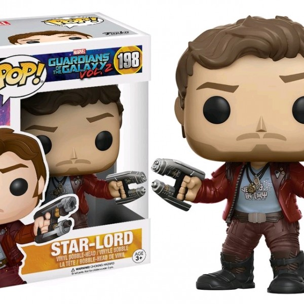 Marvel Pop Vinyl: Guardians of the Galaxy Vol 2 Star-Lord #198 - image GOTG2-198-StarLord-POP-600x600 on http://pop.toys