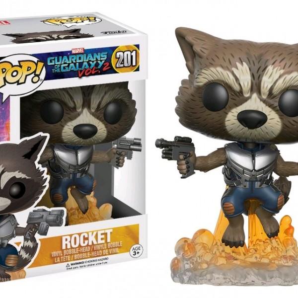 Marvel Pop Vinyl: Guardians of the Galaxy Vol 2 Rocket Raccoon #201 - image GOTG2-201-Rocket-POP-600x600 on http://pop.toys