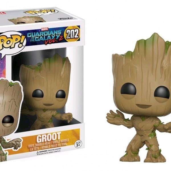 Marvel Pop Vinyl: Guardians of the Galaxy Vol 2 Groot #202 - image GOTG2-202-Groot-POP-600x600 on http://pop.toys