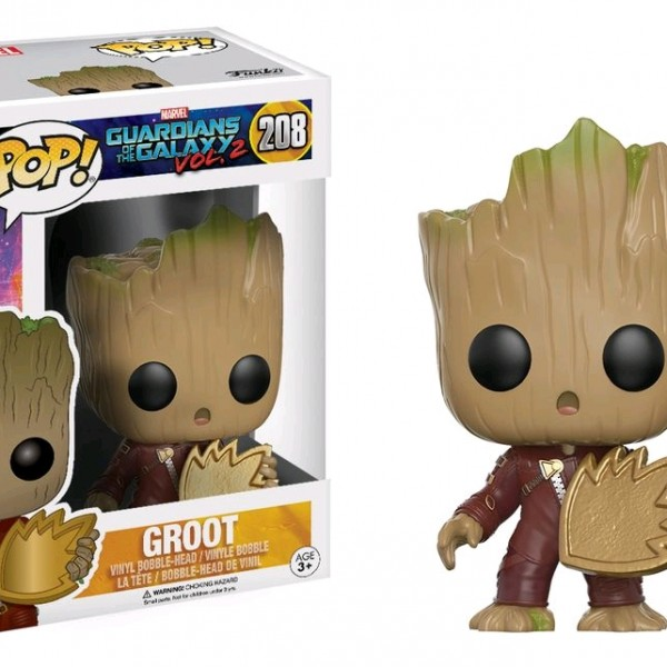 Guardians of the Galaxy Vol 2 Groot with Ravagers Patch #208 - image GOTG2-208-Groot-with-patch-POP-600x600 on http://pop.toys