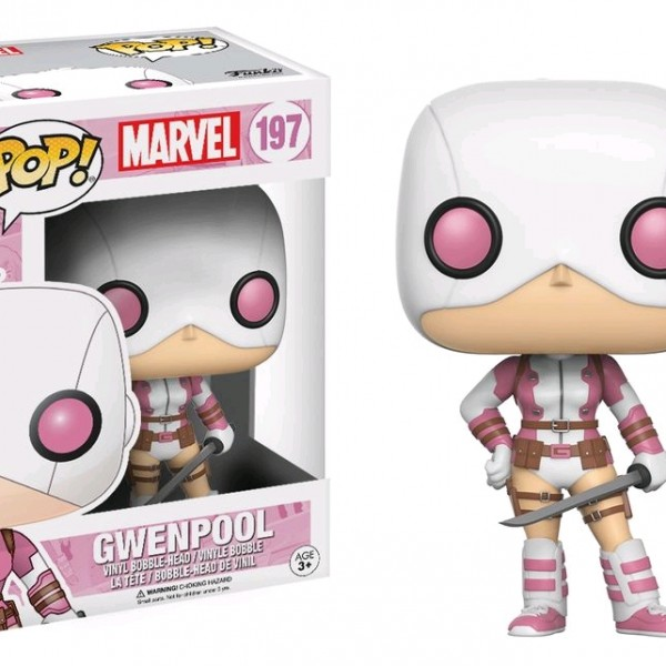 Marvel Pop Vinyl: Gwenpool (Masked) #197 - image Marvel_Gwenpool-197-POP-600x600 on http://pop.toys