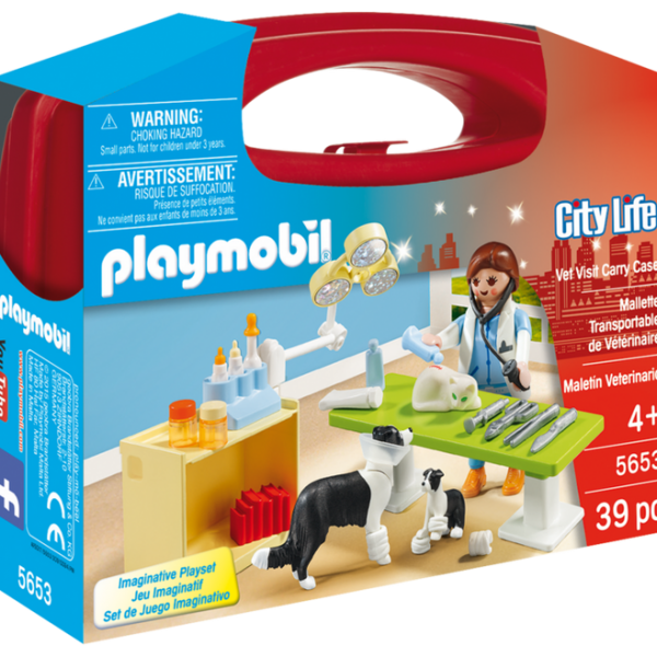 Playmobil City Life 5653 Vet Visit Carry Case - image 5653_product_box_front-600x600 on http://pop.toys