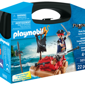 Playmobil Pirates 5655 Pirate Raft Carry Case - image 5655_product_box_front-300x300 on http://pop.toys