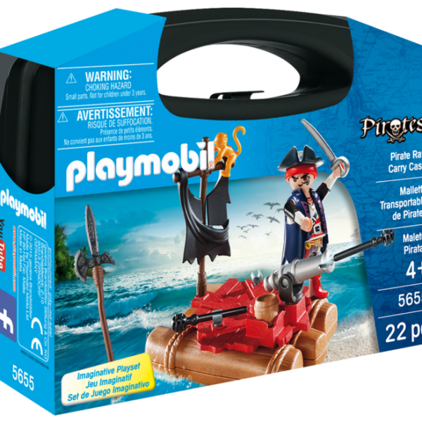 Playmobil Pirates 5655 Pirate Raft Carry Case - image 5655_product_box_front-600x600 on http://pop.toys