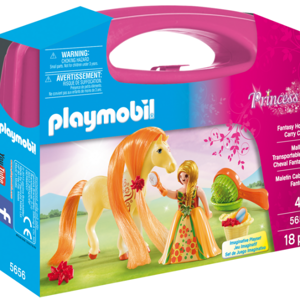 Playmobil Princess 5656 Princess Fantasy Horse Carry Case - image 5656_product_box_front-600x600 on http://pop.toys