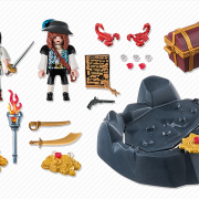 Playmobil Pirates 6683 Treasure Hideout - image 6683-15-p-contents-180x180 on http://pop.toys
