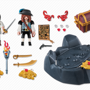 Playmobil Pirates 5655 Pirate Raft Carry Case - image 6683-15-p-contents-300x300 on http://pop.toys