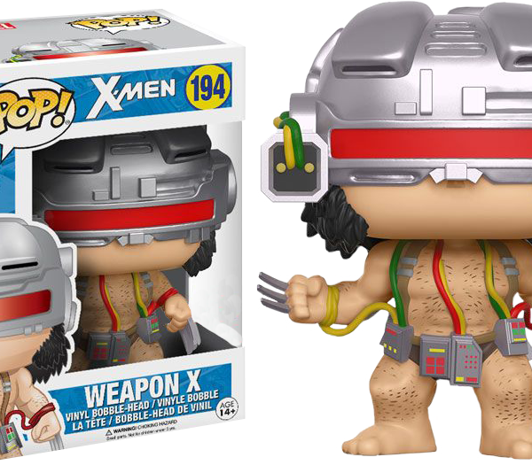 Marvel Pop Vinyl: X-Men Weapon X Wolverine #194 - image x-men-logan-weapon-x-wolverine-pop-vinyl-600x525 on http://pop.toys