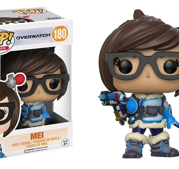 Overwatch Pop Vinyl: Mei #180 - image Overwatch-Mei-POP-180-600x565 on http://pop.toys