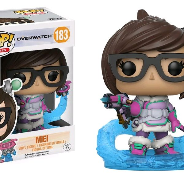 Overwatch Pop Vinyl: Mei mid blizzard exclusive #183 - image Overwatch-Mei-Snowball-Flying-POP-GLAM-183-600x565 on http://pop.toys
