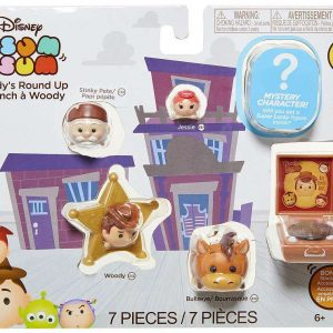 Disney Tsum Tsum 7 piece set Series 7 Figures - Cat Craze - image Disney_woodys_roundup_package-300x300 on http://pop.toys