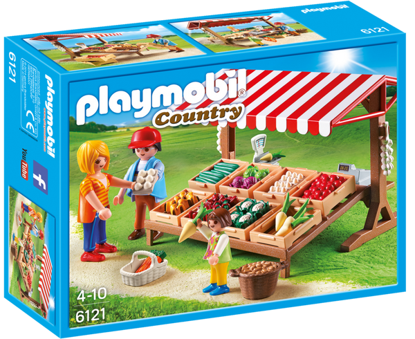 Playmobil Country 6121 Farmer's Market - image 6121_farmersmarket_box_front-600x490 on http://pop.toys