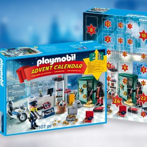 Playmobil City 9007 Advent Calendar: Jewel Thief Police Operation - image  on http://pop.toys