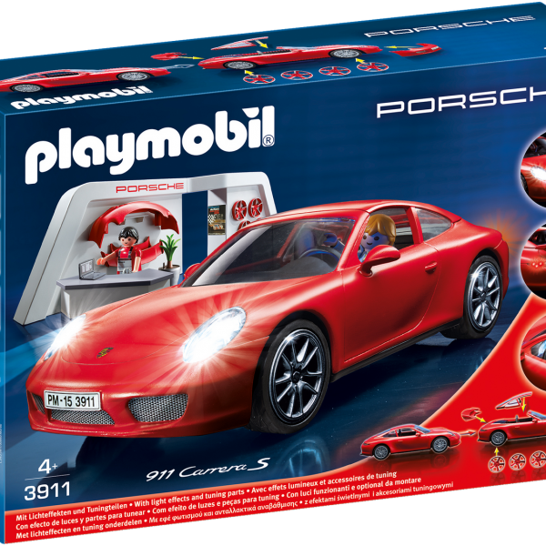 Playmobil 3911 Porsche 911 Carrera S with Lights and Showroom - image 3911_porsche-600x600 on http://pop.toys