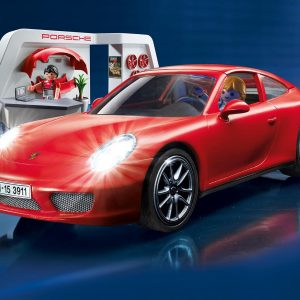 Playmobil 3911 Porsche 911 Carrera S with Lights and Showroom - image  on http://pop.toys