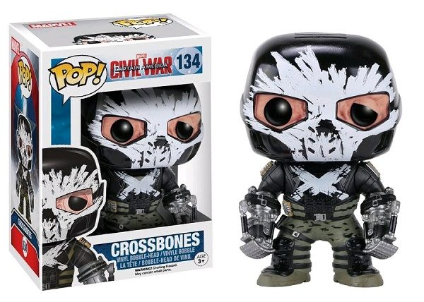 Marvel Pop Vinyl Civil War: Crossbones #134 - crossbones marvel captain america civil war pop vinyl figure - pop toys