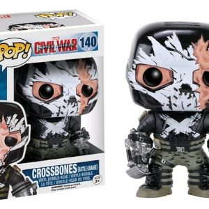 Marvel Pop Vinyl Civil War: Crossbones (Battle Damaged) #140 - crossbones marvel captain america civil war pop vinyl figure - pop toys