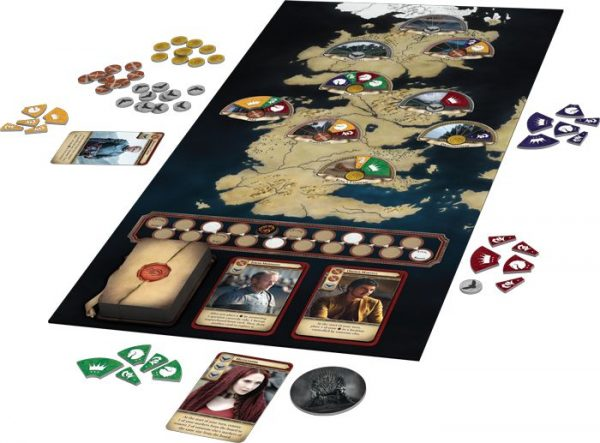 Game of Thrones: The Trivia Game - boardgame raw - pop toys