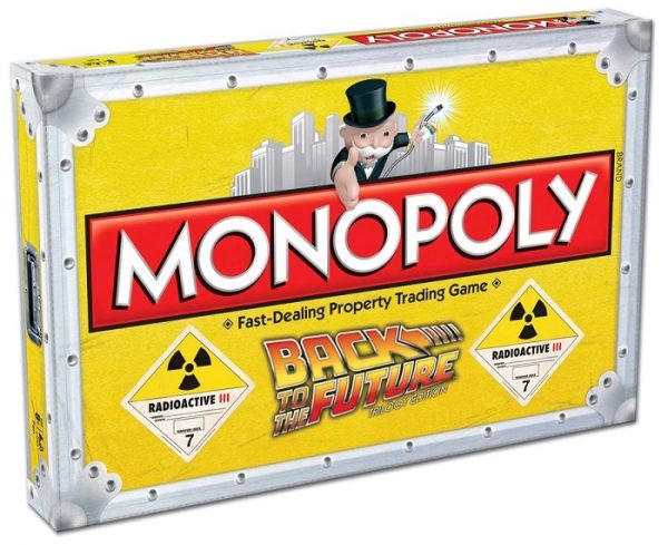 Back to the Future Monopoly cover - monopoly - pop toys