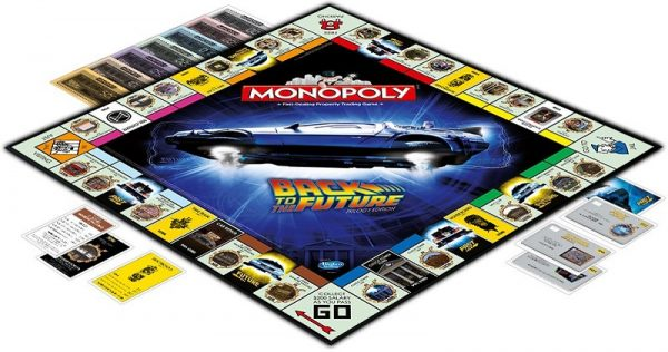 Back to the Future Monopoly boardgame - monopoly - pop toys