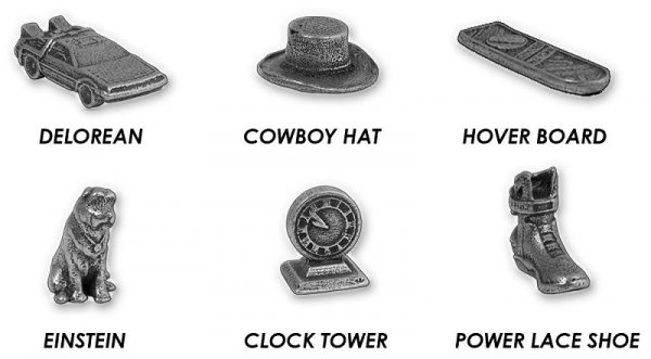 Back to the Future Monopoly items - monopoly - pop toys