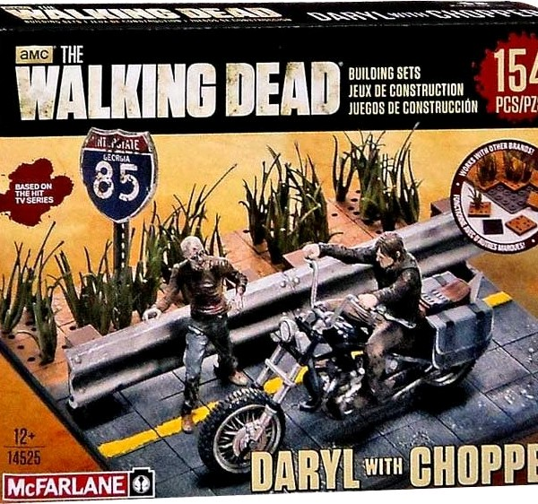 Walking Dead Daryl with Chopper construction building set - image 61_Walking-Dead-Daryl-wChopper-Building-600x562 on https://pop.toys