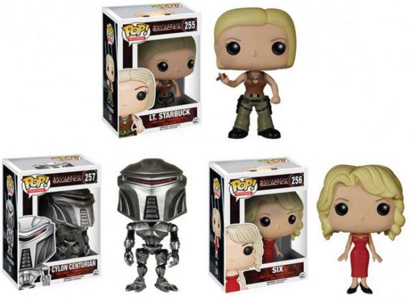 Battlestar Galactica Pop Vinyl Set of 3 - Battlestar Galactica pop vinyl figure - pop toys