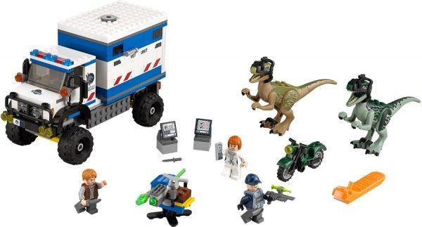 LEGO Jurassic World 75917 Raptor Rampage - Raptor Rampage package lego jurassic world - pop toys