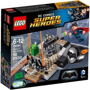 LEGO DC Superheroes 76044 Clash of the Heroes package - dc superheroes lego - pop toys